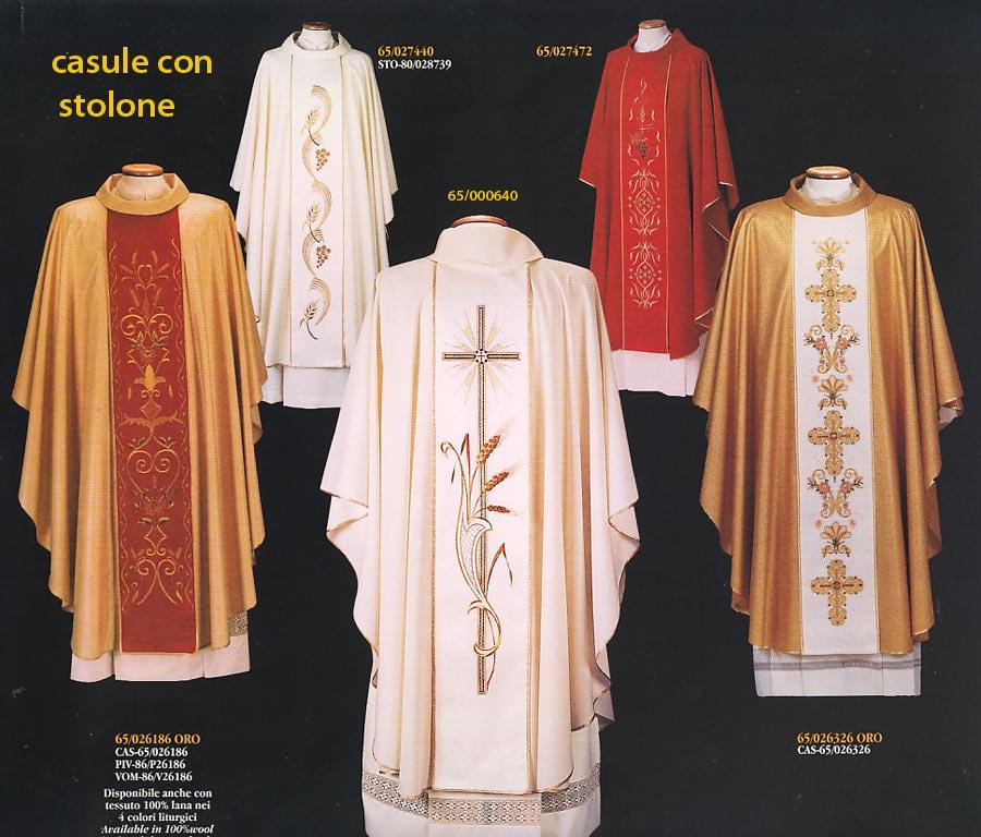 Paramenti sacri for Arredi sacri